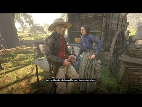 Micah Hits on Abigail / Hidden Dialogue / Red Dead Redemption 2 thumbnail
