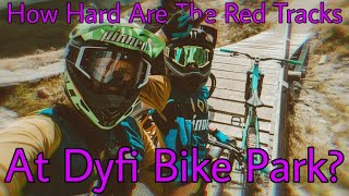 How Hard are the NEW ATHERTON'S DYFI BIKE PARK RED TRAILS???