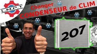 Changement condenseur de clim sur 207 1.6 Hdi