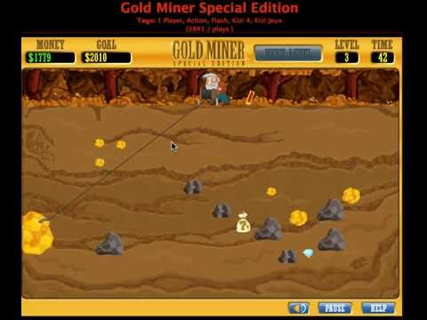 Gold miner special edition level 1-3 youtube.