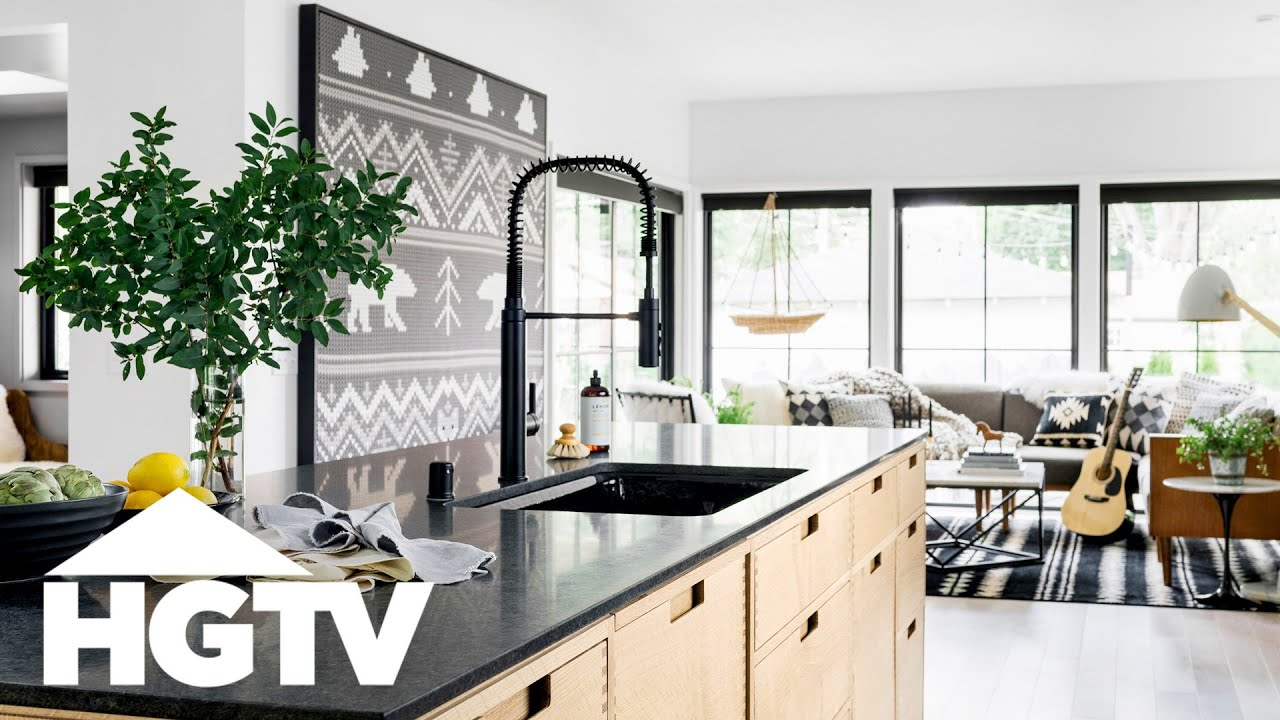 Hgtv Urban Oasis 2019 Tour The Kitchen And Living Room