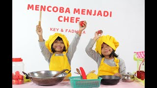 Reaksi Anak Menjadi Chef - Reaksi Anak S01E02 -  Key & Fadhila Playschool Arcamanik