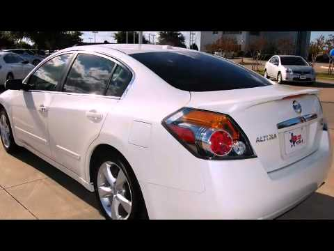 2008 Nissan Altima 3.5 SE Sedan In Grapevine, TX 76051   YouTube