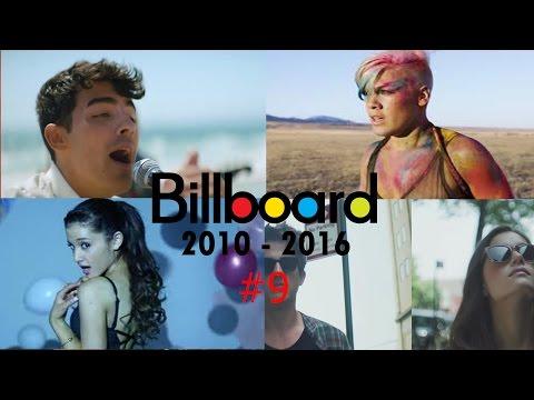 Billboard hot 100 - All Songs No. #9 (2010-2016)