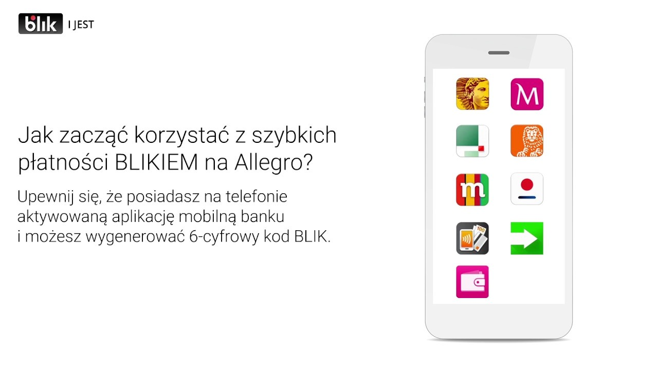 Jak Placic Blikiem Na Allegro Youtube