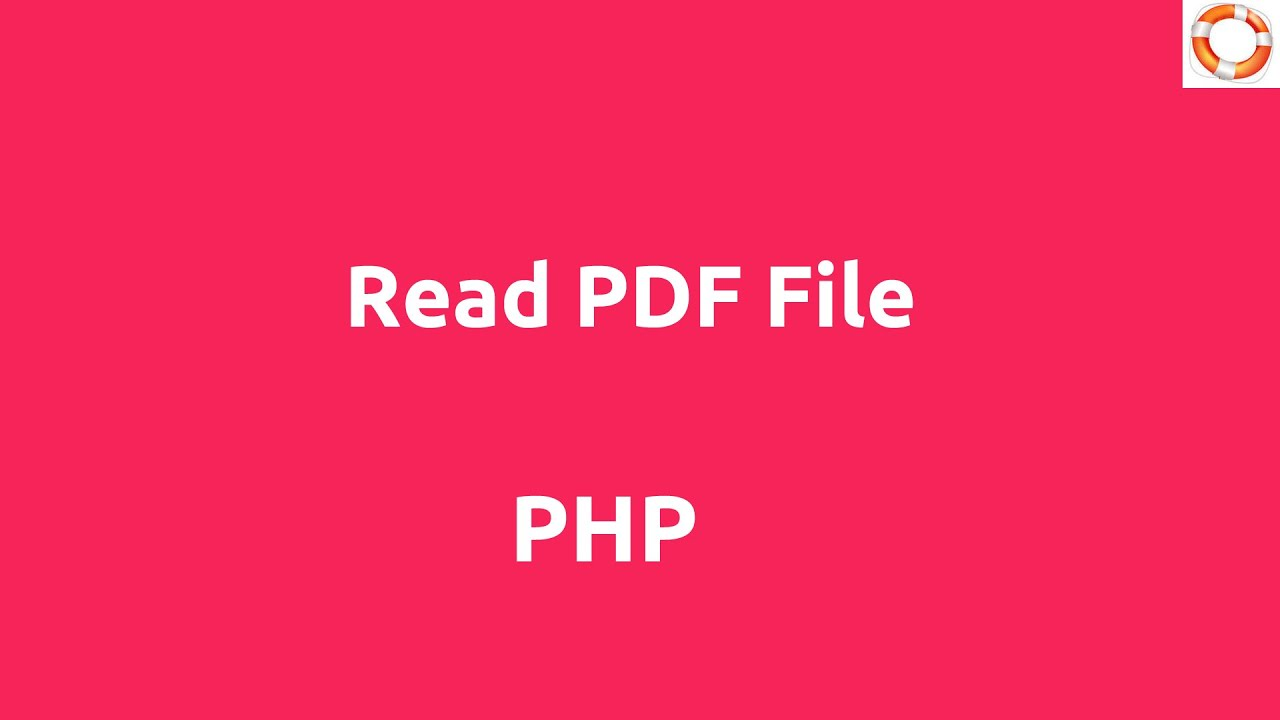 From string pdf php