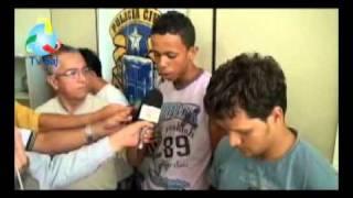 Polícia Civil apresenta detentos-Santo Antonio de Jesus-01.04.11