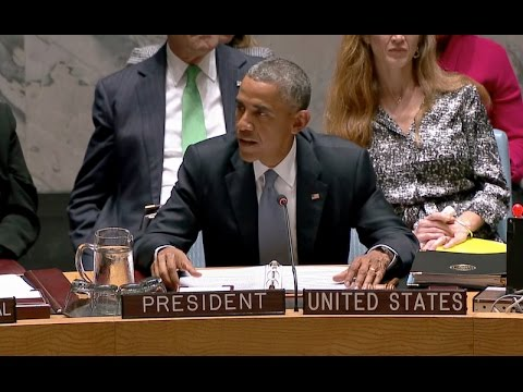 President Obama Opens the U.N. Security Council Summit