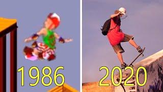 Evolution of Skateboard Games 19862020