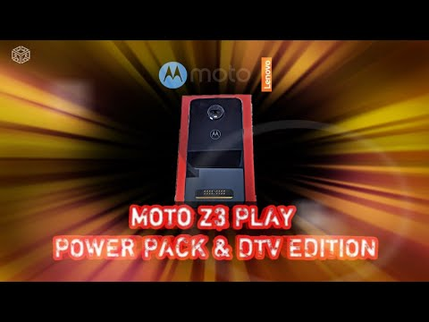 83580eacb Motorola MOTO Z3 PLAY POWER PACK   DTV EDITION - unboxing - YouTube