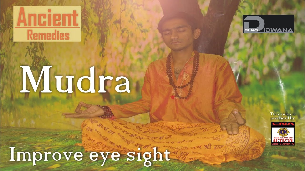 Colour therapy for eyesight - Ancient Remedies How To Improve Eye Sight Surya Mudra Mudra Therapy Youtube