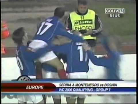 2005 (October 12) Serbia and Montenegro 1-Bosnia 0 (World Cup qualifier).mpg