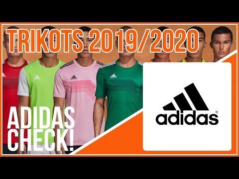 Adidas Trikots 2019 2020 Fussball Katalog Jerseys Youtube
