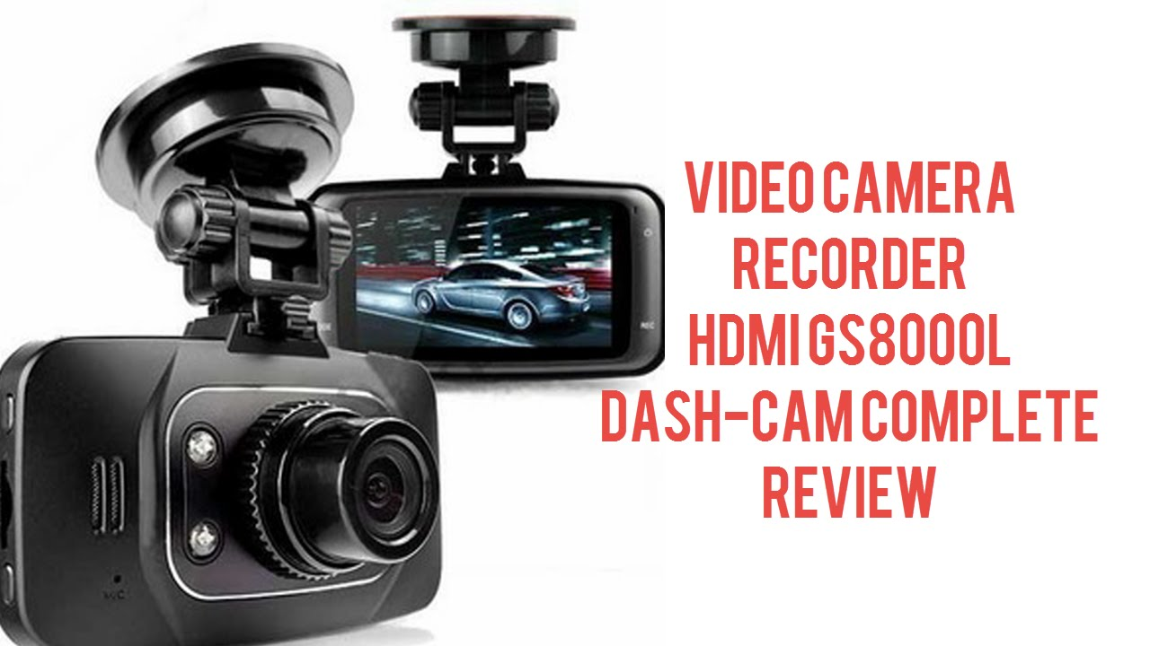 gs8000l 1080p car dash camera recorder full review and setup youtube rh youtube com Cam Newton gator 1296p dash cam manual