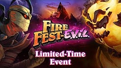 Hearthstone Fire Fest-E.V.I.L. | Limited-Time Event Trailer