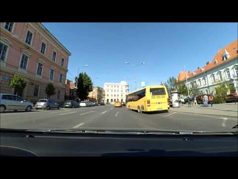 Driving in Sibiu