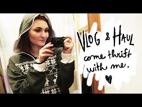 Haul & Vlog - Come Thrift With Me | Ester Starling