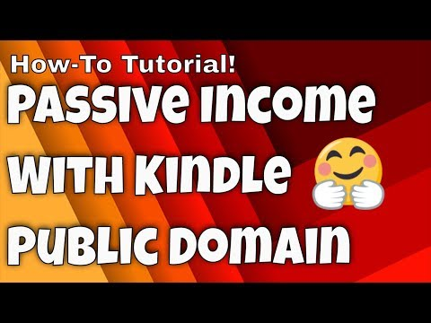 Profit From Public Domain Books On Kindle