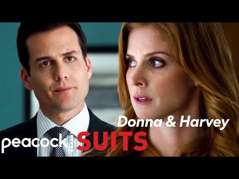Chemistry Between Harvey And Donna   SEASON 1   Suits
