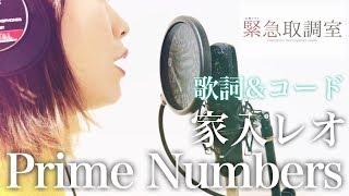 家入レオ「Prime Numbers」フル歌詞・コード付 《acoustic cover》 (テレビ朝日系4月木曜ドラマ「緊急取調室」主題歌)
