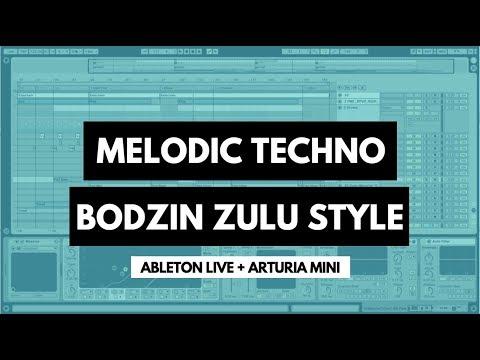 Melodic Techno Track - Style of Bodzin Zulu (Ableton Live, Arturia Mini, Template)