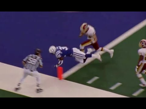 Edgerrin James One Handed Touchdown Catch