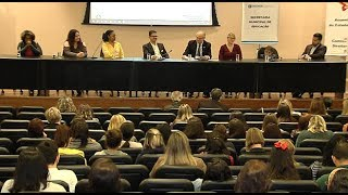 É Notícia - Seminário debate Educação Especial em Florianópolis - 16/10/19
