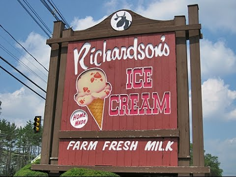 Richardson S Dairy Middleton Ma Richardson S Ice Cream Sound And Vision Media Youtube