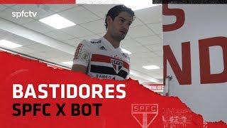 BASTIDORES: SÃO PAULO 2X0 BOTAFOGO   SPFCTV