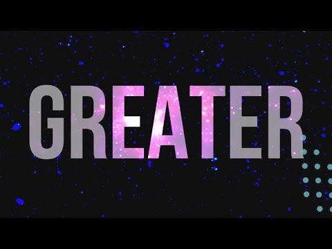Greater - Lyric Video by Feast Worship