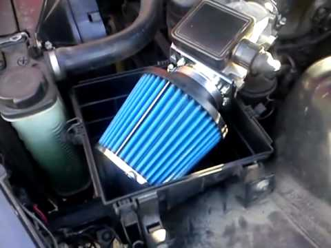 Bmw E36 316 M43 Stożek Air Filter Youtube