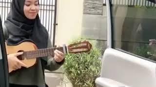 Muslim girl sing kiki Dance Music