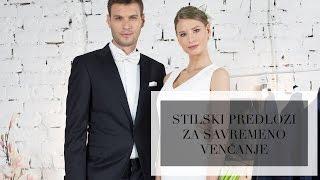 Stilski predlozi za savremeno venčanje