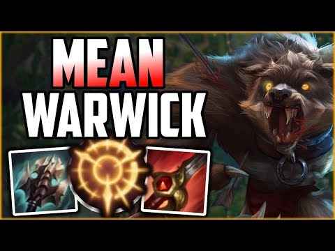 Mean Counter Jungle Warwick! - Warwick Commentary Guide - League of Legends