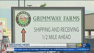 Grimmway Farms reportedly expl…