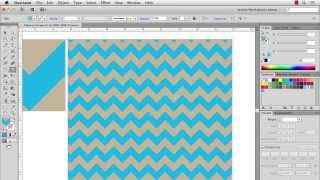 Illustrator Chevron Stripes