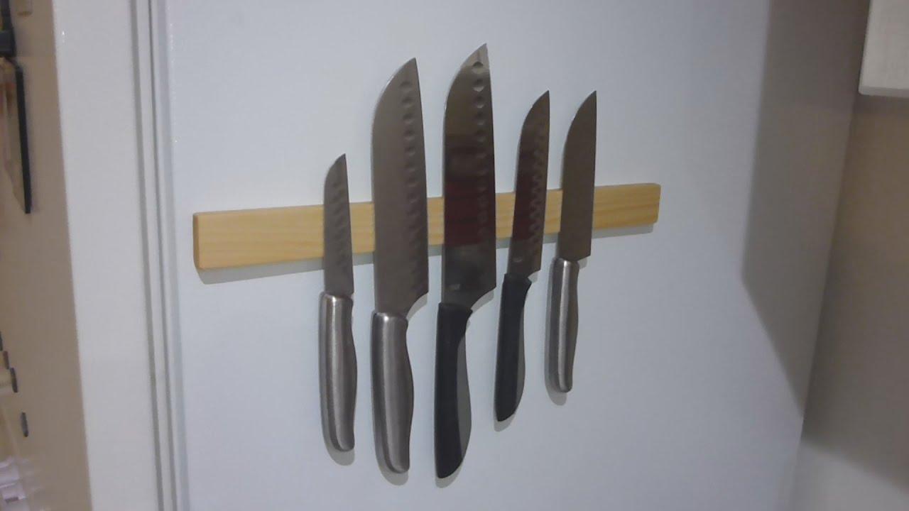 magnetic knife holder youtube