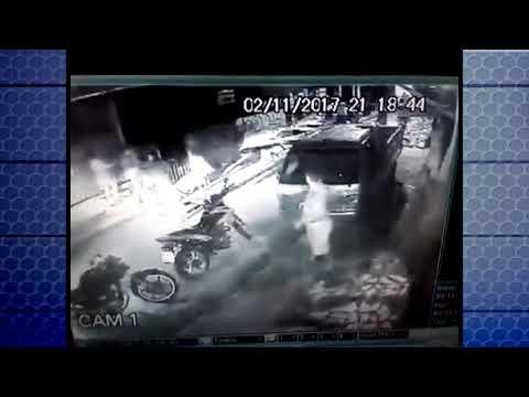 Imagens mostram baleamento no Guamá