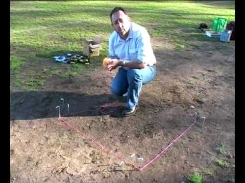 Archaeological Methods: Set up a 1m grid square