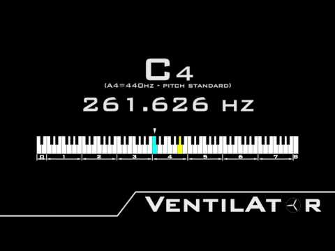 C4 / 261.626hz @A440hz Tone For Instrument Tuning