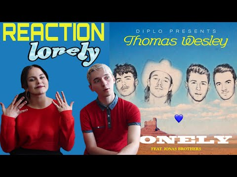 diplo-presents:-thomas-wesley---lonely-(with-jonas-brothers)- -reaction- 