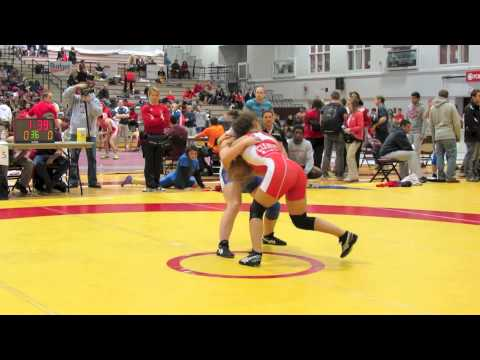 2012 McMaster Invitational: 51 kg Alyssa Cleaves vs. Jade Papke