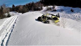 Maverick X3 Xmr Turbo Cold Start and Winter Rip