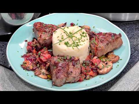 Lamb Loin Chops and Mashed potatoes Easy Dinner