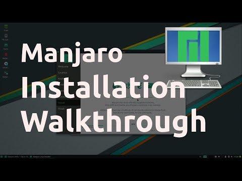 Manjaro Installation Walkthrough