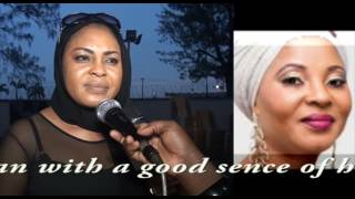 Moji Olaiya woman with a good sence of humour Sola Kosoko Abina