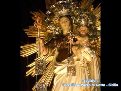 Festa madonna del carmine 2012 tradizioni barcellona for Arredamenti barcellona pozzo di gotto