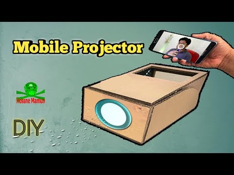 How To Make Smartphone Projector at Home | New DIY Project 2019 | Life Hacks | Learning Video