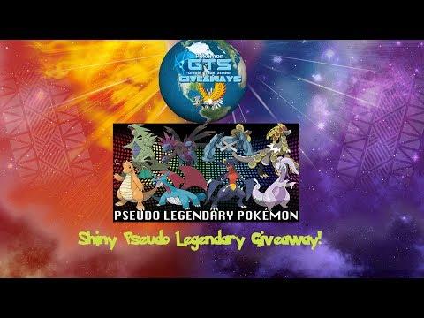 Legendary shiny giveaways