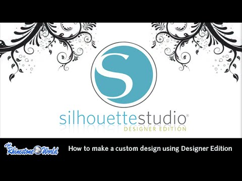 TRW Webinar: How to Create A Custom Design in Silhouette Designer Edition 3/27/15